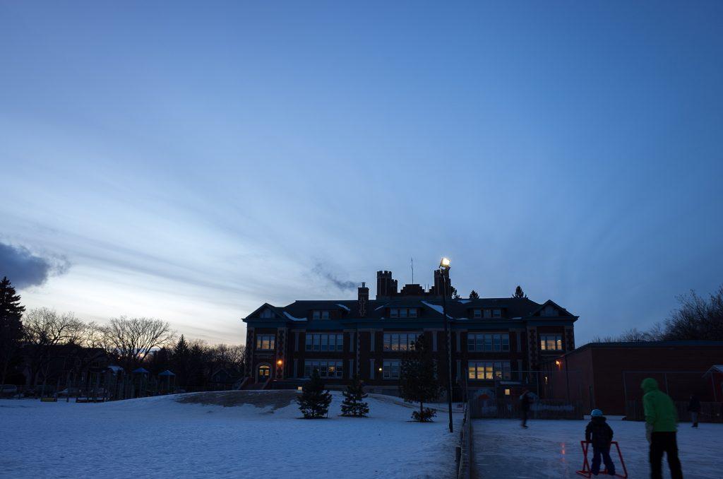 buena vista school rink photo by meghan mickelson