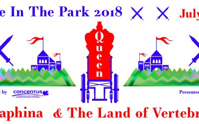Theatre in the Park – Queen Seraphina and the Land of the Vertebraat